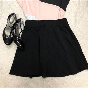 Shein black skirt